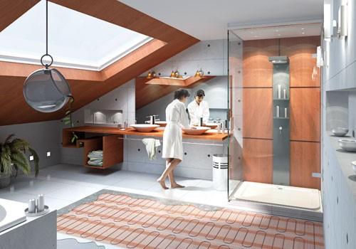 Podlahové vykurovanie elektrické