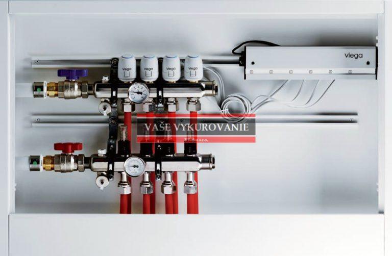 Fonterra suchý systém napojenie na rozdeľovač
