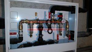 Hlavný uzáver vody v dome, a filtrácia vody