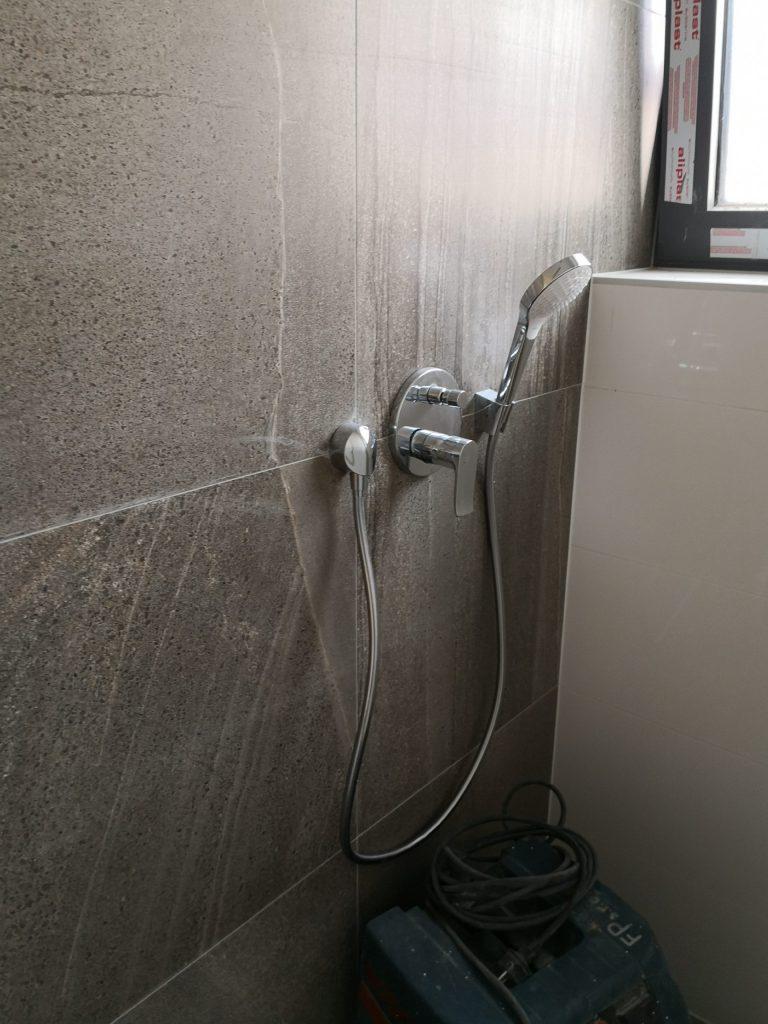 Kompletáž sprchovej batérie