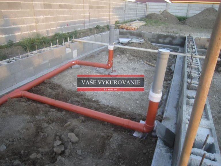 Kompletné riešenie kanalizáce od základov 2