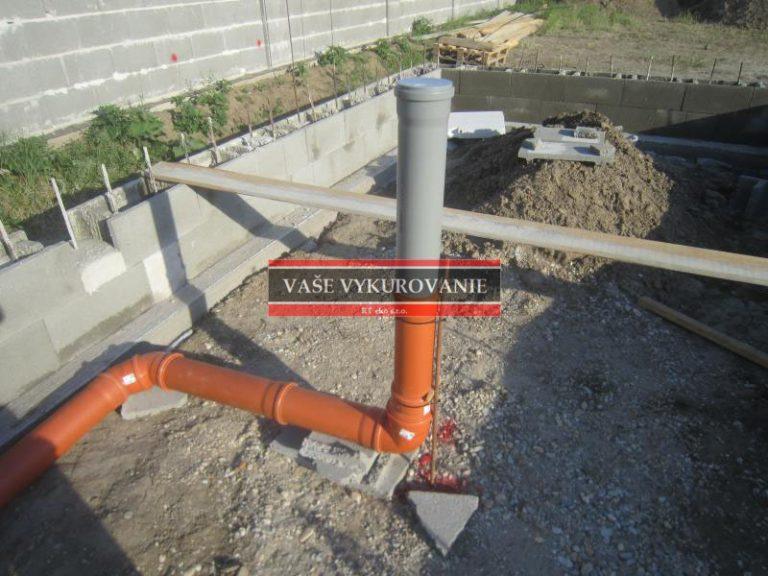 Kompletné riešenie kanalizácie od základov