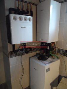 Kotolňa Junkers pre podlahové a radiátorové vykurovanie