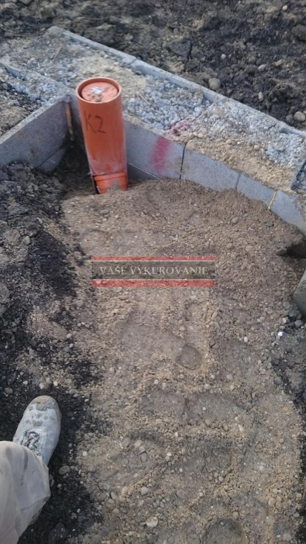 Ležatá kanalizácia pod domom