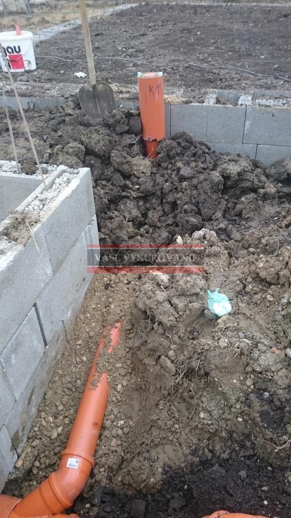 Ležatá kanalizácia pod domom6