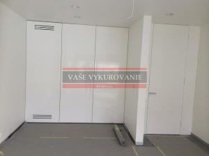 Odvlhčovacia VZT jednotka pre wellness v skrini