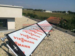 Ploché slnečné kolektrory Viessmann