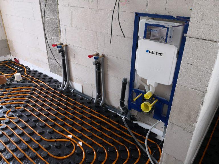 Podlahové vykurovanie Gabotherm systémová doska