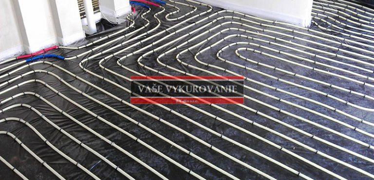 Podlahové vykurovanie Viega Fonterra tacker systém 1