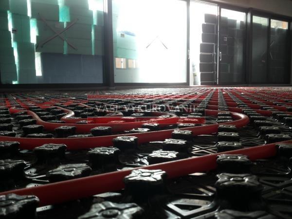 Podlahové vykurovanie Viega