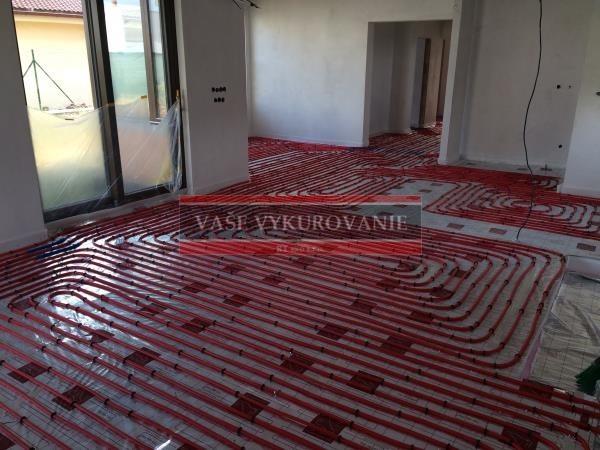 Podlahové vykurovanie - uchytávanie Tacker3