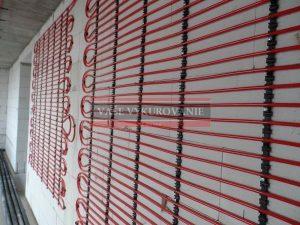 Podomietkové prevedenie stenového chladenia