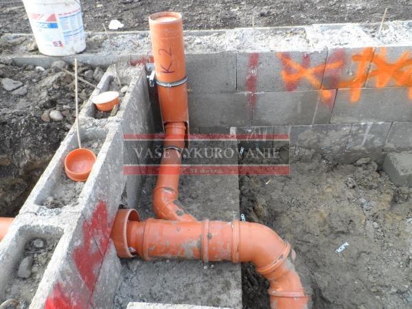Prípojky vody a kanalizácie