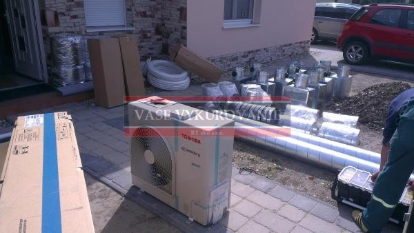 Príprava na inštaláciu klimatizácie