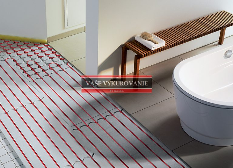 Rekonštrukcia podlahového vykurovania v kúpeľni