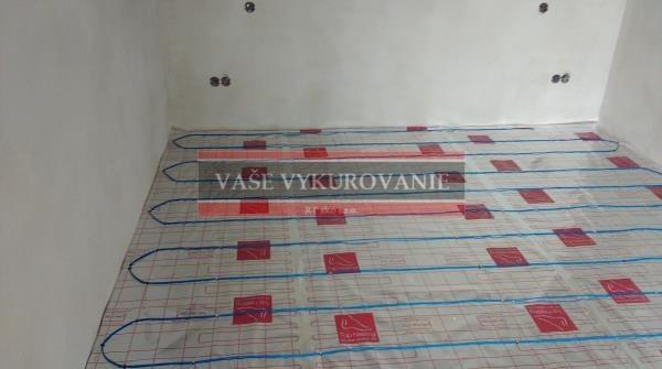 Temperovanie elektrickým podlahovým vykurovaním