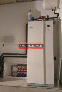 Tepelné čerpadlo NIBE voda-voda