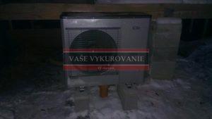 Tepelné čerpadlo Nibe Split - Východná II.