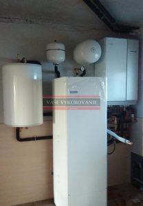 Tepelné čerpadlo Nibe Split pre vykurovanie a stropné chladenie