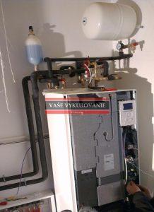 Tepelné čerpadlo voda-voda uvedenie do prevádzky