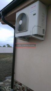 Tepelné čerpadlo vzduch-vzduch Miloslavov