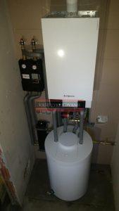 Viessmann Vitodens 222W plynová kotolňa