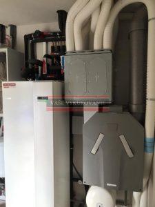 Vnútorná jednotka tepelného čerpadla Nibe vzduch-voda VVM320