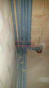 Vodovodné stúpacie potrubia